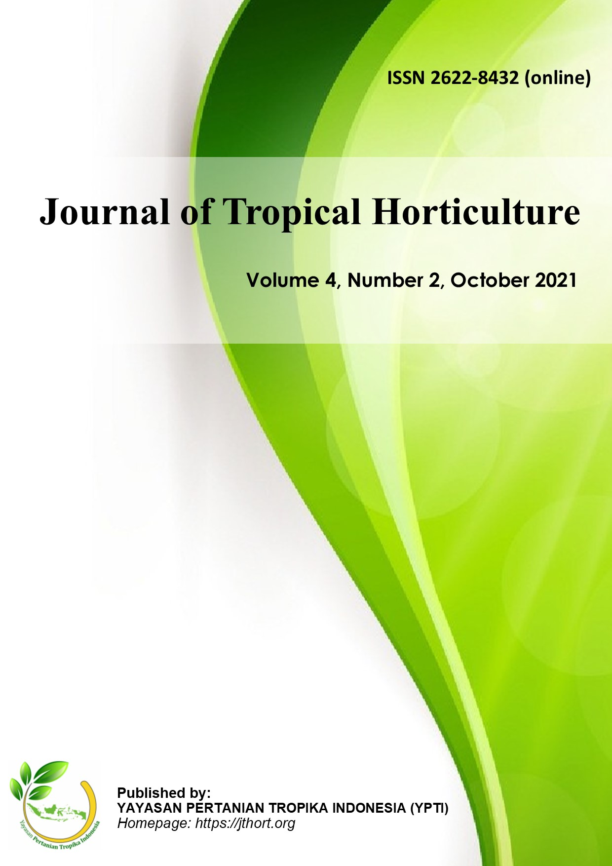 Journal of Tropical Horticulture
